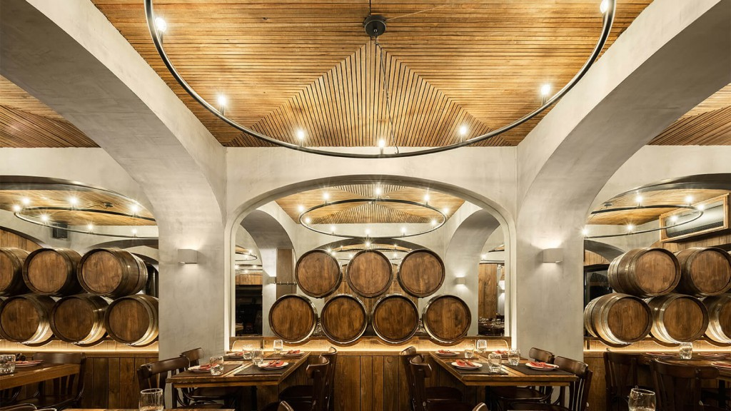 """""""A PORTUGUESE RESTAURANTE INSPIRED IN WINERIES"""" - DOMUS"""